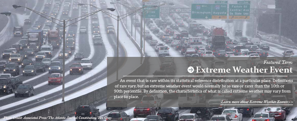Featured Image: Extreme Weather Event